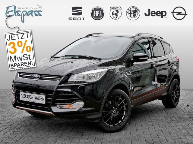 Ford Kuga Titanium 1.6 PDC KLIMAAUTO SITZHZG ALU, Jahr 2014, Benzin