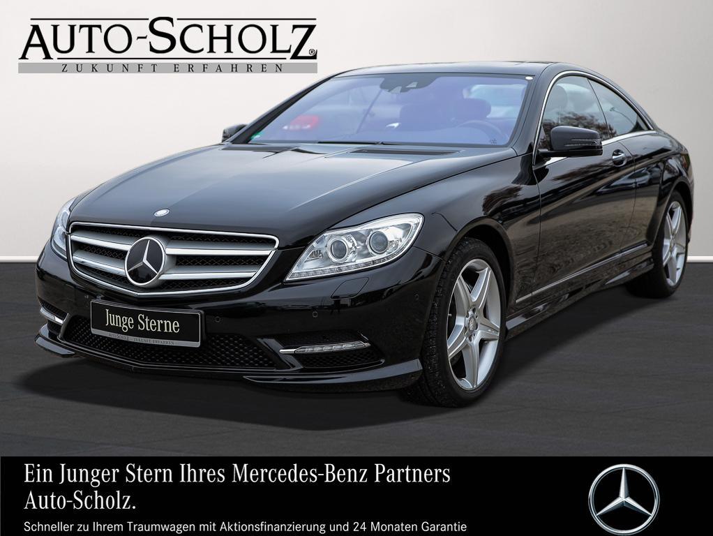 Mercedes-Benz CL 500 4MATIC AMGLINE+KAMERA+STANDHZ+++SITZKLIMA, Jahr 2013, petrol