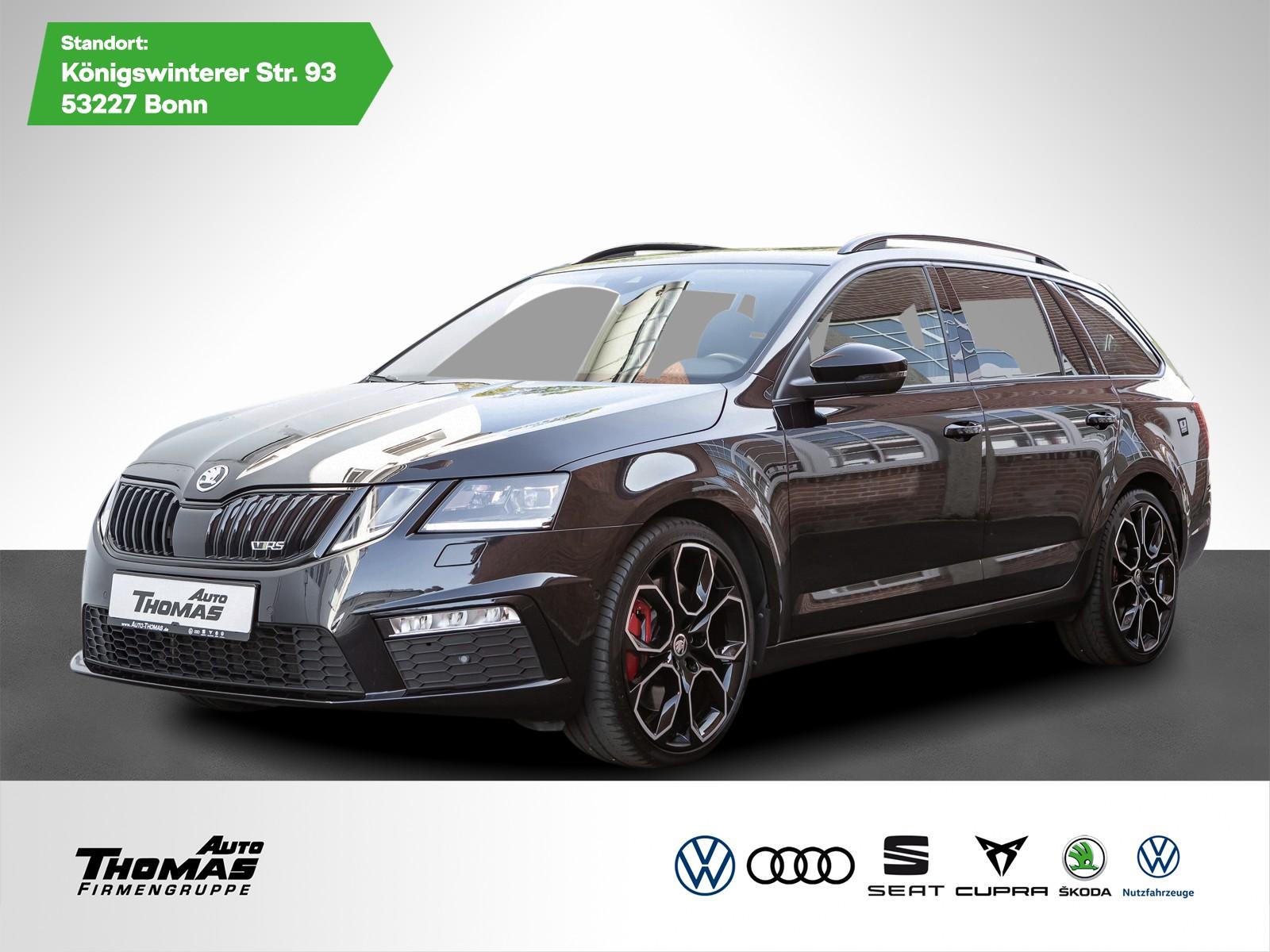 Skoda Octavia III Combi RS 230 2.0TSI DSG*LED*ESD*AHK*, Jahr 2017, Benzin