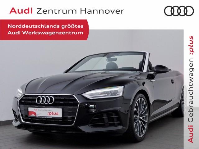 Audi A5 Cabriolet 2.0 TDI Leder-Alcantara, 19 Zoll, Navi, Xenon, Jahr 2018, Diesel