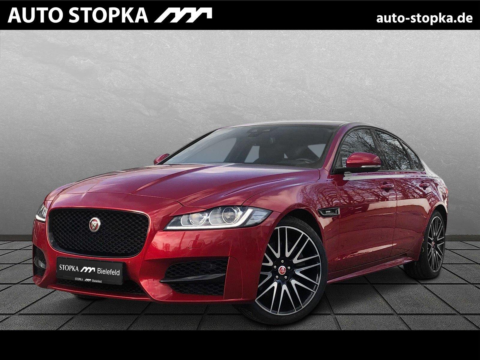 """Jaguar XF 30D R-SPORT *20""""*AEB*Nav*Black-P. el. Heckkl., Jahr 2016, diesel"""