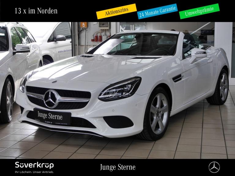 Mercedes-Benz SLC 200 Navi/LED ILS/Airscarf/Totwinkel/PTS, Jahr 2019, Benzin