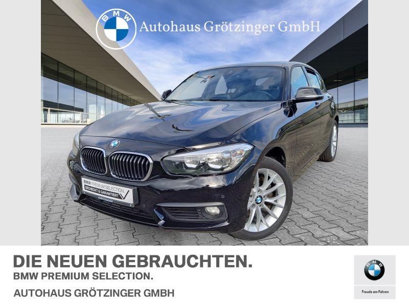 BMW 120i 5-Türer Navi Bus. Tempomat USB Shz PDC, Jahr 2018, Benzin