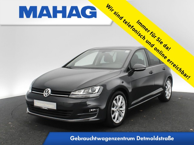 Volkswagen Golf VII 1.4 TSI Highline R line Sport Xenon ParkLenkAssist 6-Gang, Jahr 2016, Benzin