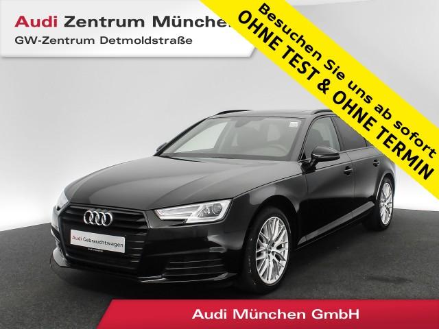 "Audi A4 Avant 2.0 TFSI B&O Pano Navi Xenon 18"" PDCplus 6-Gang, Jahr 2017, petrol"