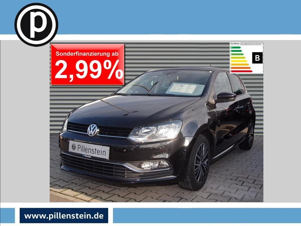 Volkswagen Polo 1.2 TSI Allstar DSG KLIMA SITZH PARKPILOT, Jahr 2016, Benzin