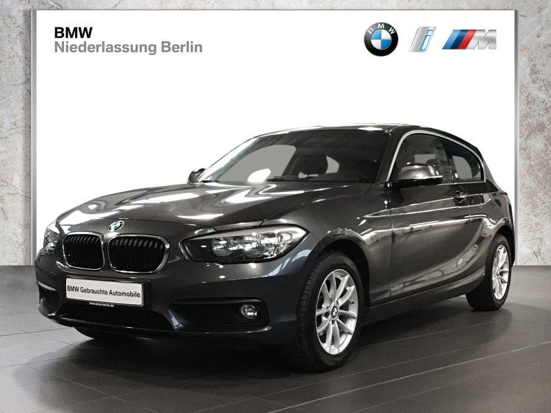 BMW 118i 3-Türer EU6 Klimaaut. Sitzheizung Glasdach, Jahr 2017, Benzin