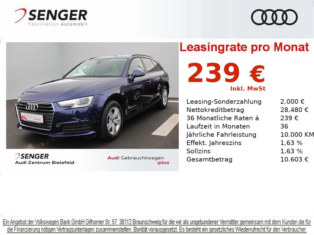 Audi A4 Avant 35 TFSI Navi PDC Auffahr-Warnsystem, Jahr 2019, Benzin