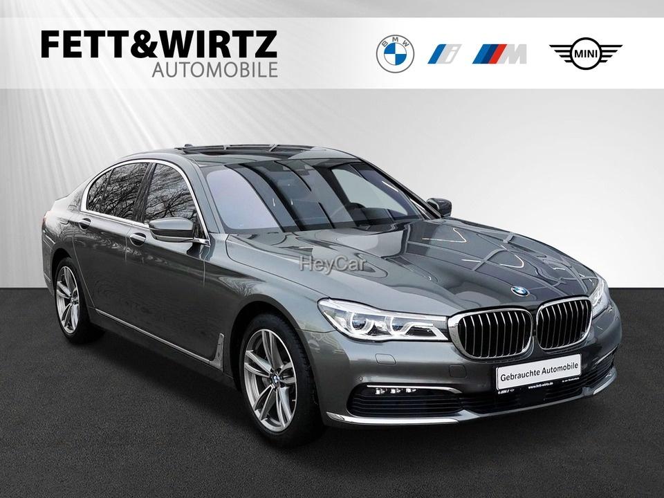 BMW 730d xDrive SAG Laser Navi el.GSD RKamera HUD, Jahr 2016, Diesel