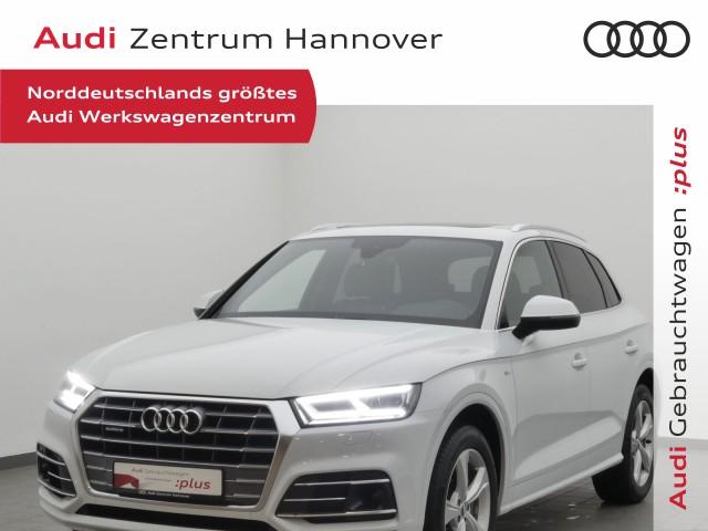 Audi Q5 40 TDI qu. sport, Matrix, Pano, virtual, ACC, Alcantara, Jahr 2019, Diesel