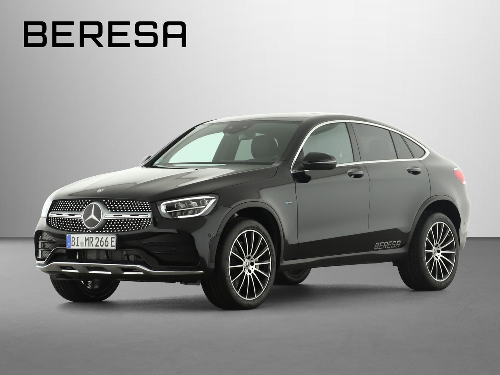 Mercedes-Benz GLC 300 e 4M AMG Burmester Fahrassist. LED AHK, Jahr 2021, Hybrid