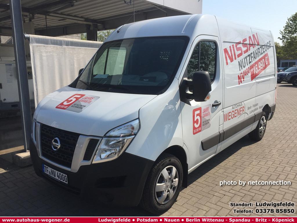 Nissan NV400 3.3t dCi 130 DPF L2H2 PRO, Jahr 2018, Diesel