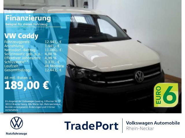 Volkswagen Caddy Kasten 2.0 TDI Navi Klima Sitzheizung uvm, Jahr 2017, Diesel
