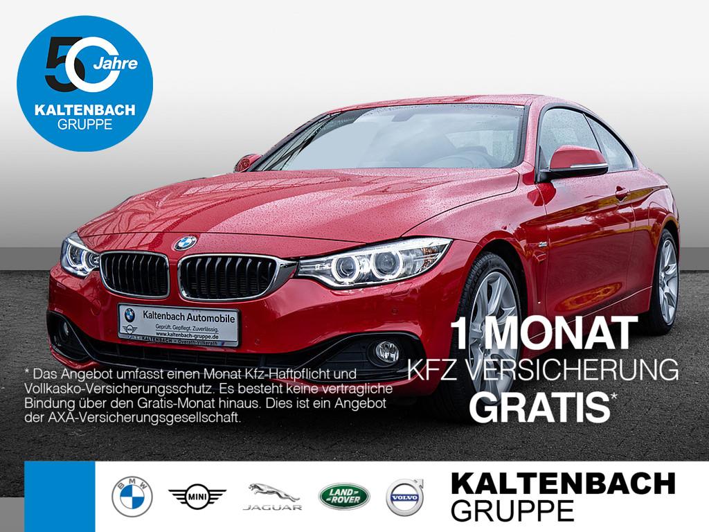 BMW 420i Coupe Sport Line, Jahr 2015, Benzin