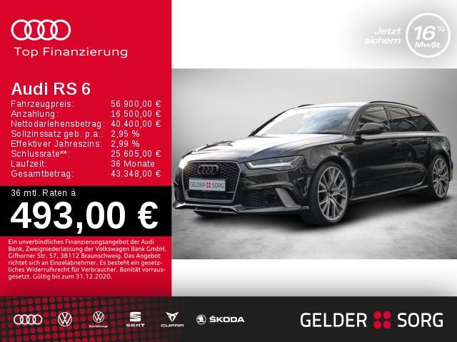 Audi RS6 Avant+ 4.0 TFSI qu. Milltek*Matrix*Dynamikpaket, Jahr 2017, Benzin