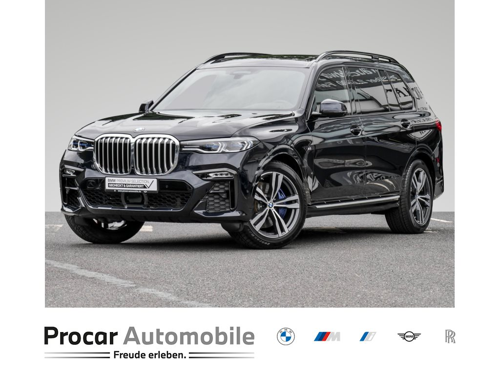BMW X7 xDrive40d M-SPORT+AHK+HUD+DAB+LASER+KOMFORTSITZ+SKY LOUNGE, Jahr 2020, Diesel