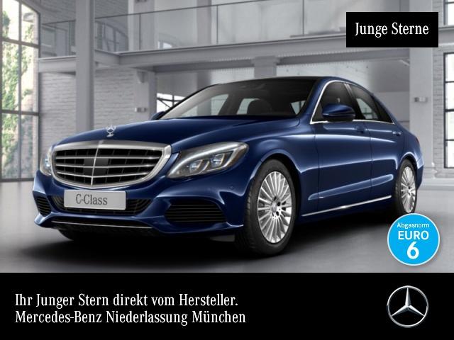 Mercedes-Benz C 250 d 4M Exclusive Pano Distr+ ILS LED Kamera, Jahr 2016, Diesel