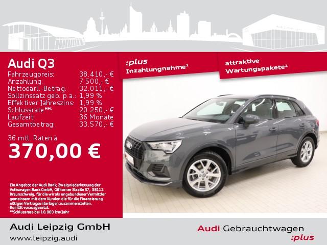 Audi Q3 35TDI advanced*S tronic*Audi pre sense front*, Jahr 2020, Diesel