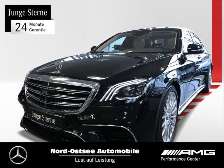 Mercedes-Benz AMG S 63 4M+ lang Comand 360° Pano Distronic, Jahr 2018, Benzin