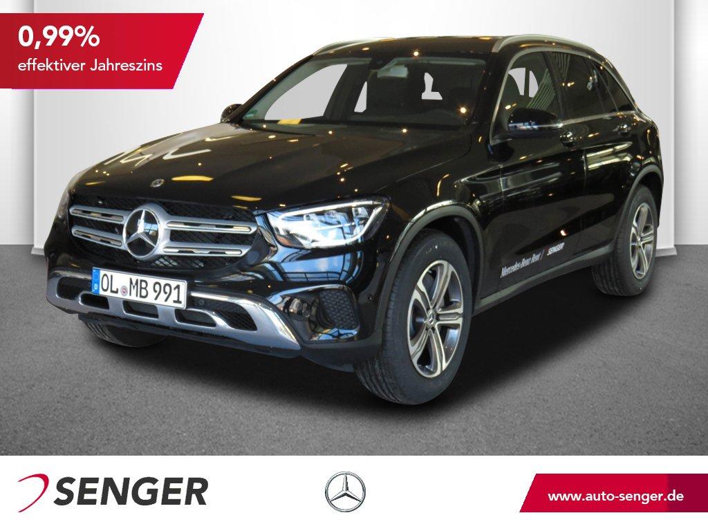 Mercedes-Benz GLC 200 d 4M Navi AHK Keyless LED Chrom-Paket, Jahr 2019, Diesel