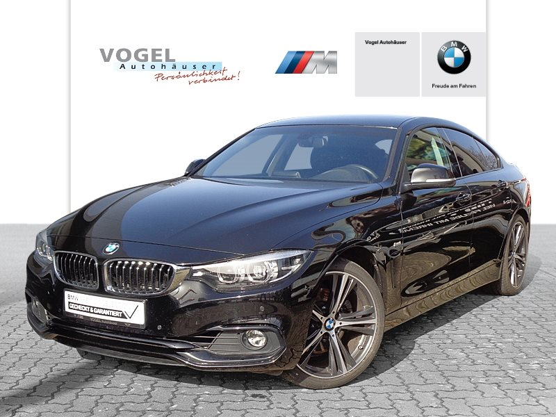 BMW 430i Gran Coupé Modell Sport Line Euro 6 Navi Bus. PDC Klima Sitzheizung Lichtpaket, Jahr 2018, Benzin