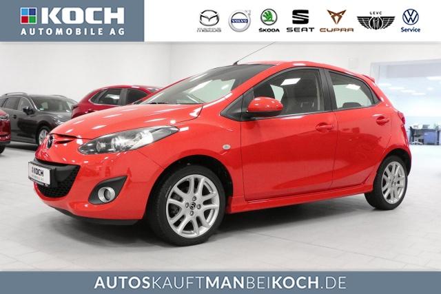 Mazda 2 SPORTS 102 PS SHZ PDC Klima Scheckheft 1.Hd WR, Jahr 2014, Benzin