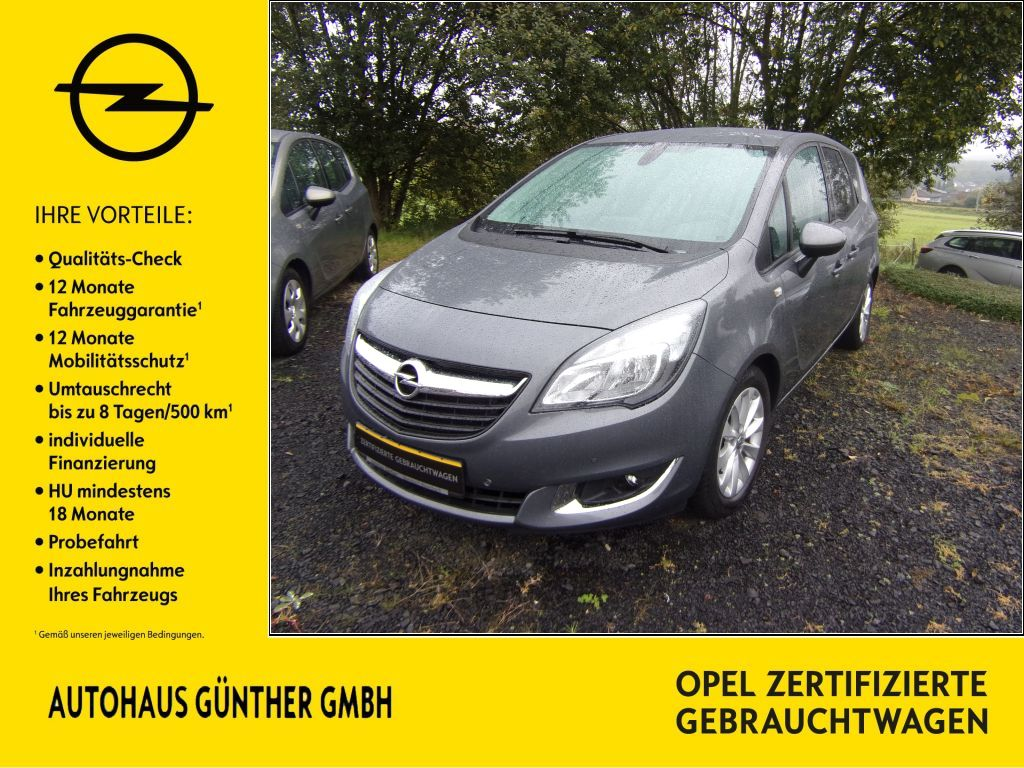 Opel Meriva Style 1.4 KLIMA SITZH LENKRH KAMERA, Jahr 2015, Benzin