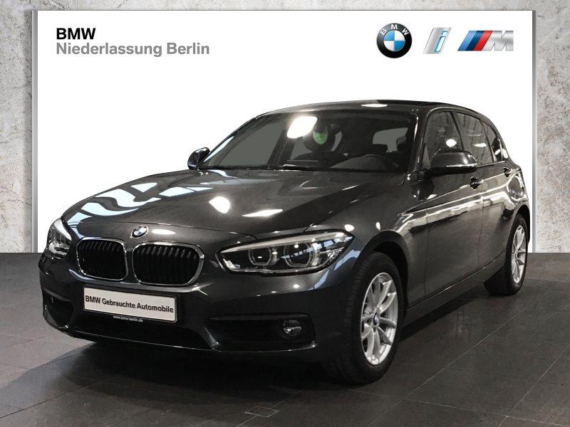BMW 118d 5-Türer EU6 LED NaviProf. HiFi Sportsitze, Jahr 2017, Diesel
