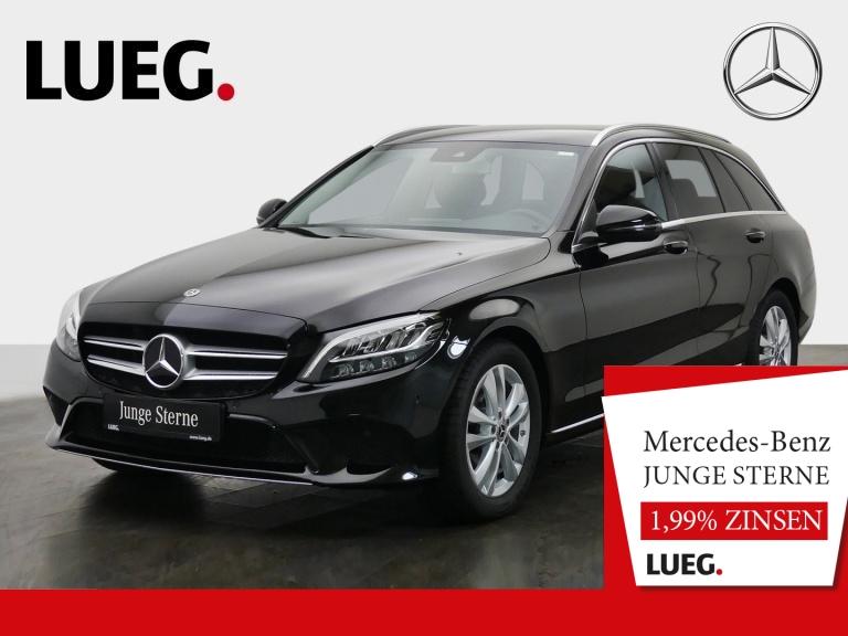 Mercedes-Benz C 180 T Avantgarde+Navi+LED-HP+CarP+ParkA+Kamera, Jahr 2019, Benzin