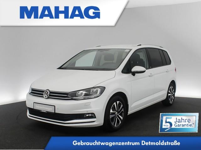 Volkswagen Touran UNITED 1.5 TSI 7-Sitzer Navi Kamera ParkPilot Sprachbed. AppConnect Bleutooth 6-Gang, Jahr 2020, Benzin