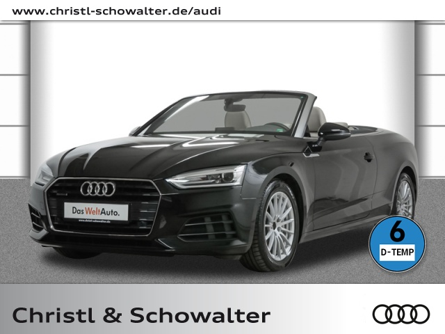 Audi A5 Cabriolet 2.0 TDI quattro S tronic Navi PDC, Jahr 2019, Diesel