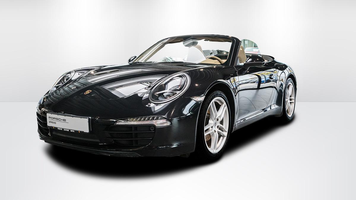 Porsche 991 (911) Carrera Cabriolet | Sitze luxorbeige, Jahr 2012, petrol