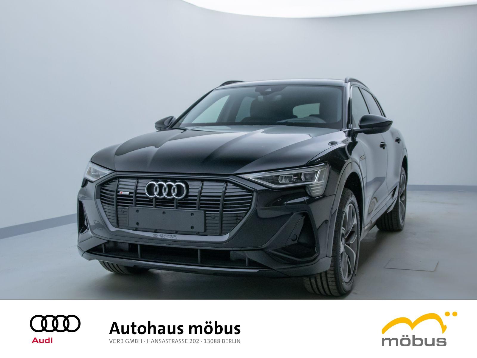 Audi e-tron S line 55 QU*MATRIX*HUD*PANO*B&O3D*AASS*, Jahr 2021, Elektro