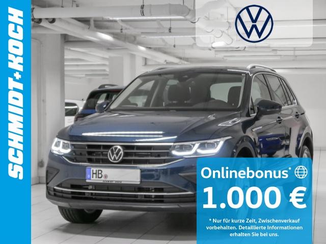 Volkswagen Tiguan 2.0 TDI BMT Life DSG, Matrix-LED, AHK, Navi, Jahr 2020, Diesel