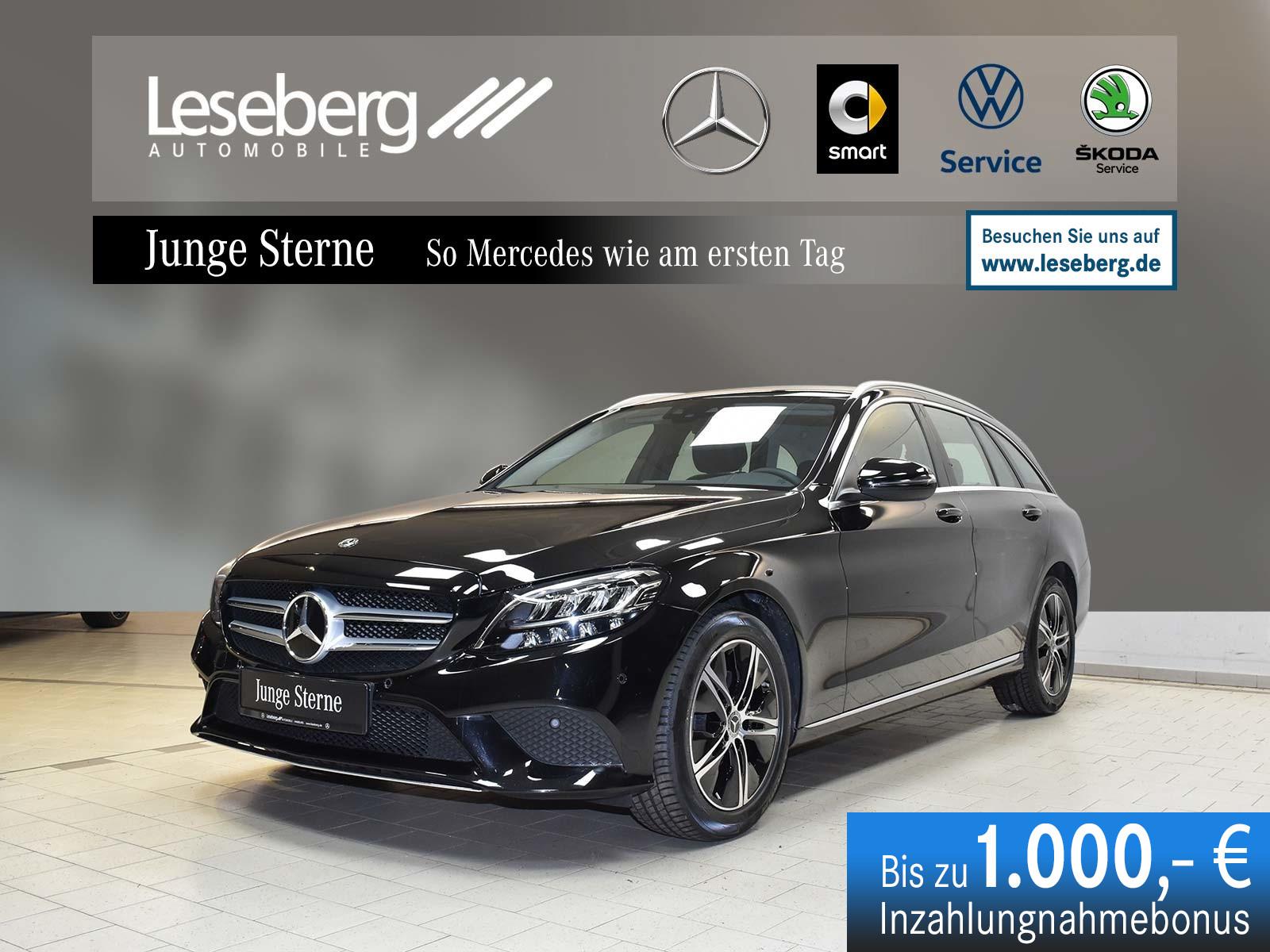 Mercedes-Benz C 180 T Avantgarde/Kamera/AHK/Navi/LED/9G/Totwin, Jahr 2020, Benzin