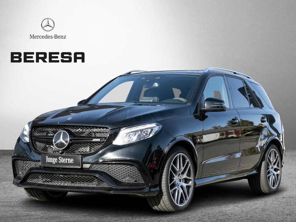 Mercedes-Benz GLE 63 AMG 4M StHz Distronic Pano Sitzklima 360°, Jahr 2017, petrol
