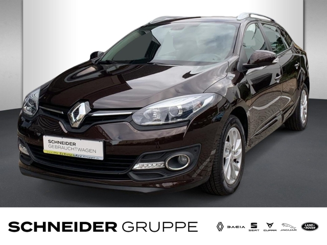 Renault Megane Grandtour Paris Deluxe TCe115 NAVI+AHZV, Jahr 2014, Benzin