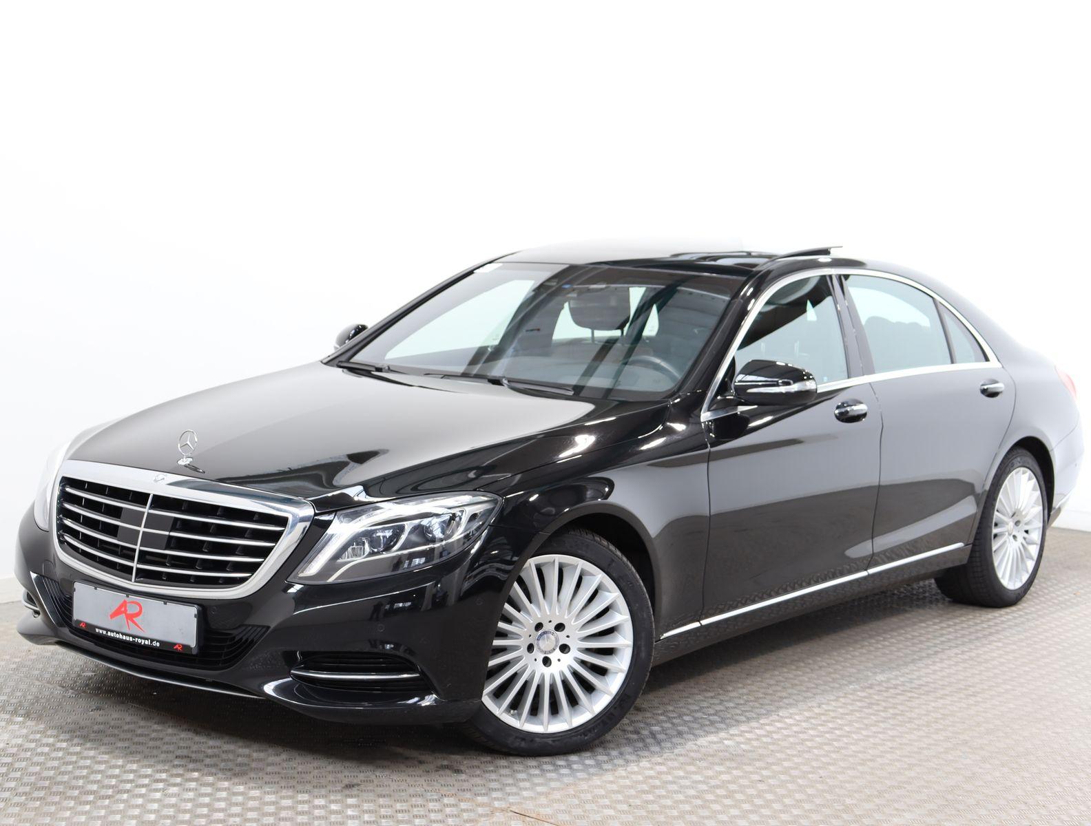 Mercedes-Benz S 350 d 4M LANG HEADUP,SITZKLIMA,SERVOSCHLIESS., Jahr 2015, Diesel