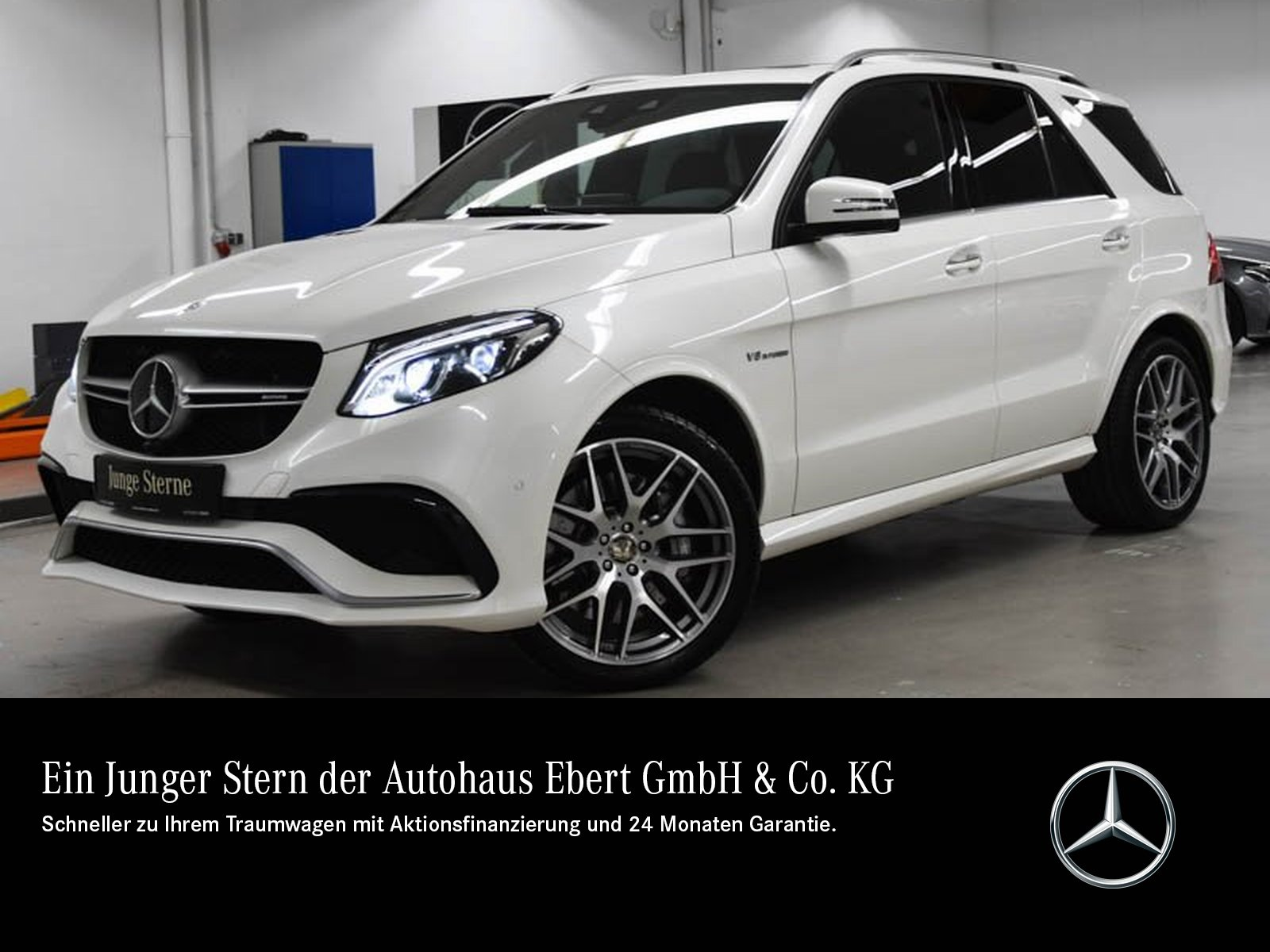 Mercedes-Benz GLE 63 AMG DRIVER'S+COMAND+AIRM+AHK+SITZKLIMA, Jahr 2016, Benzin