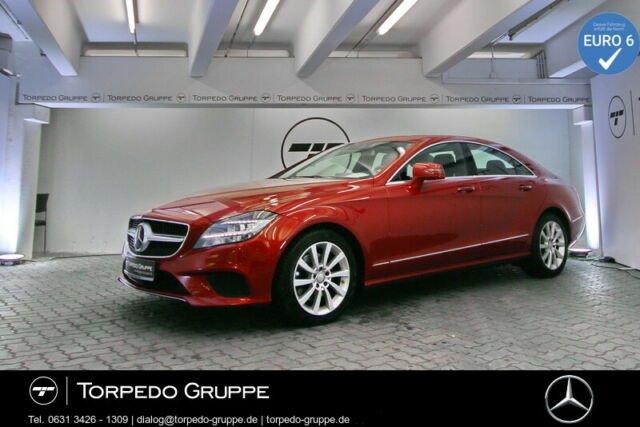 Mercedes-Benz CLS 350 d COUPÉ NAVI+COMAND+LED+SHD+STHZ+DISTR+P, Jahr 2015, diesel
