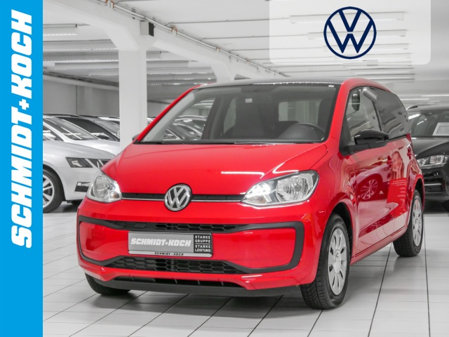 Volkswagen up! 1.0 BMT move up! Roof-Pack Bluetooth, Jahr 2019, Benzin