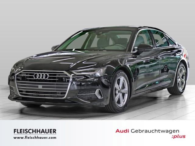Audi A6 45 TDI qu. sport Matrix+HUD+TV+Stdhzg+Luft+Navi+VC+Stadt+Tour, Jahr 2019, Diesel
