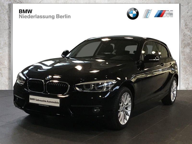 BMW 116d 3-T. EU6 LED Navi Servotronic Parkassistent, Jahr 2017, Diesel