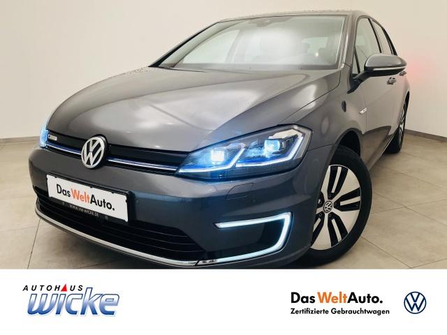 Volkswagen Golf VII e-Golf Navi Klima R.Kamera LED, Jahr 2017, Elektro