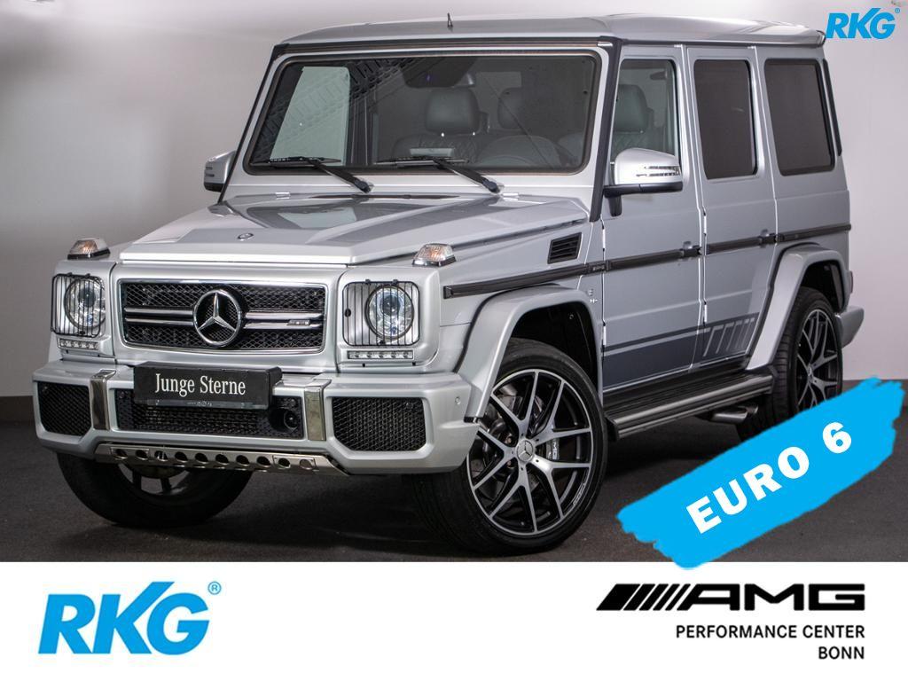 Mercedes-Benz G 63 AMG Comand*Standheizung*AHK*Fond Entertain*, Jahr 2017, petrol