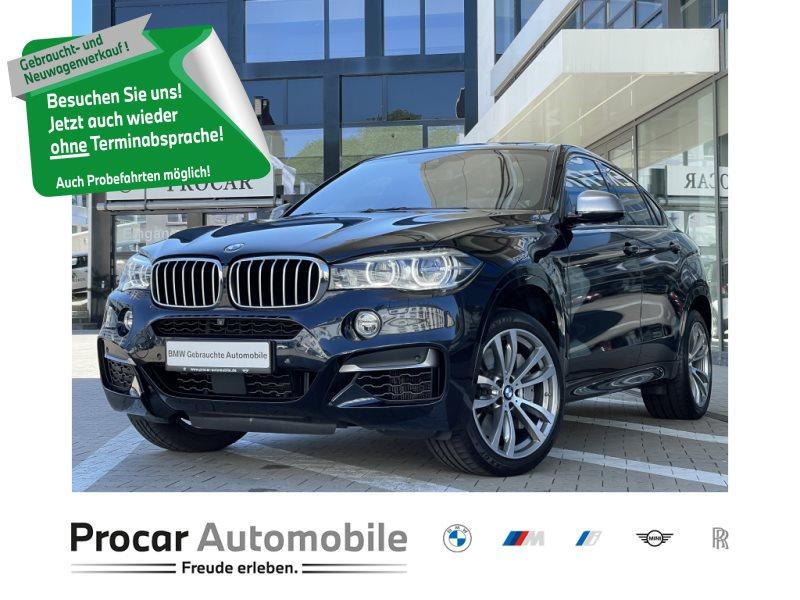 BMW X6 M50d M Paket HuD DAB LED WLAN Shz, Jahr 2018, Diesel