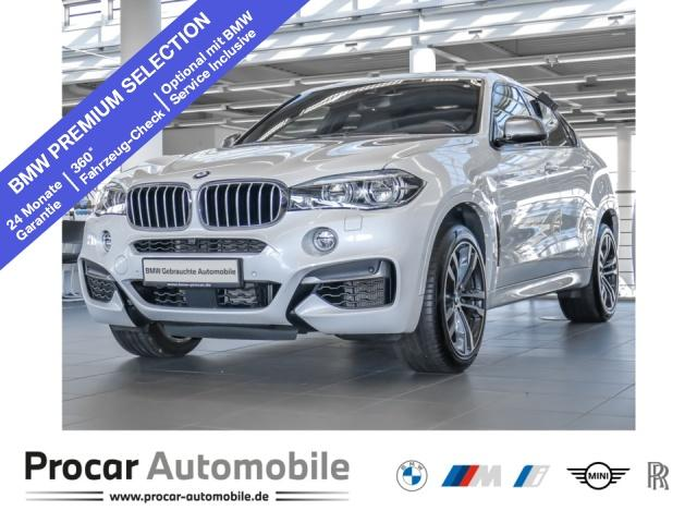 BMW X6 M50d Head-Up LED B&O Soft-Close AHK Standhzg., Jahr 2019, Diesel