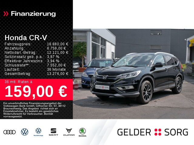 Honda CR-V 1.6 i-DTEC RE Elegance 4WD *AHK*Navi*DAB*, Jahr 2017, Diesel