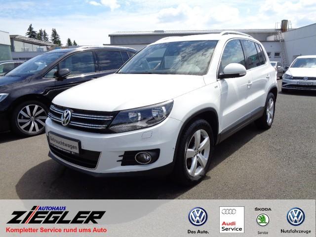 Volkswagen Tiguan Cup Sport & Style 1,4 Klima Einparkhilfe, Jahr 2014, Benzin