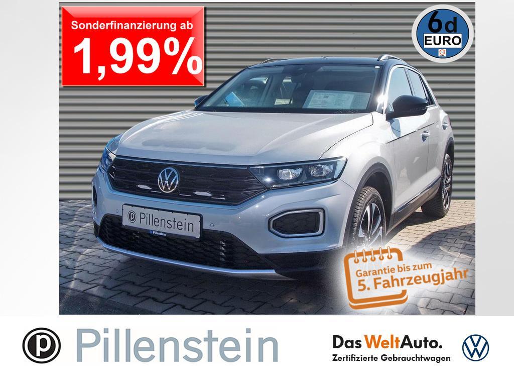 Volkswagen T-Roc 2.0 TDI UNITED LED AHK DAB+ ACC NAVI SITZH, Jahr 2021, Diesel